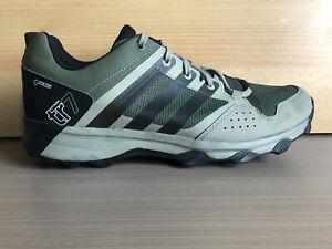 Adidas Herren Laufschuhe Kanadia 7 TR GTX Grün/ schwarz Gr. 44 *GUTER ZUSTAND*