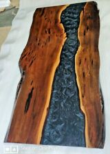 """Epoxy Resin Dining Table Top """"72x36inch"""" in 35MM Thickness in Acacia Wood (Top)"""