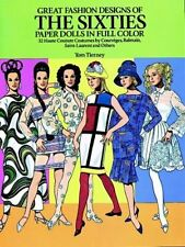 Great Fashion Designs of the Sixties Paper Dolls: 32 Haute Couture Costumes by C