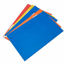 30 x Colour FOOLSCAP Hanging Suspension Files Filing Cabinet Large Paper Folders