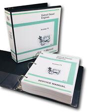 GM DETROIT IN LINE 3-71 4-71 6-71 DIESEL ENGINE SERVICE MANUAL SHOP OVHL
