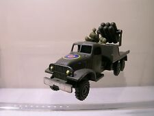 FJ FRANCE JOUET GMC 6X6 ARMY TRUCK + ROCKET LAUNCHER ARMY-GREEN SCALE 1:55