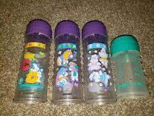 Vintage Set Of 4 Playtex Baby Bottles