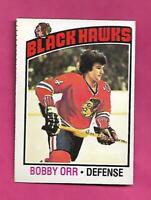 1976-77 OPC # 213 HAWKS BOBBY ORR  EX-MT CARD (INV# D8187)