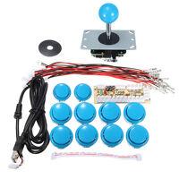 3x Zero Delay Arcade Game Controller USB Joystick Kit Set for MAME Raspberry Pi