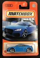 2021 Matchbox 16/100 2020 AUDI TT RS COUPE ~ BLUE ~ NEW CASTING ~ VHTF!
