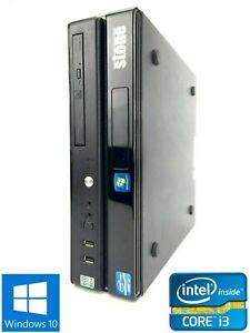 Stone Custom SFF - 320GB HDD, Intel Core i3-2120, 8GB RAM - Win 10 Pro