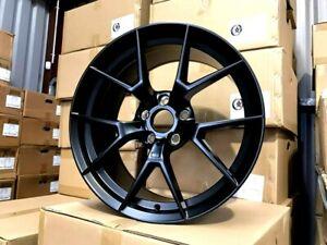 "20"" BMW M4 M3 CS Style Wheels Satin Black Staggered 20x8.5 20x10 inch PCD 5x120"