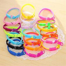 10pcs/set Zipper Bracelet Bangle Fidget Focus Toys Stress Relief Multi-Color JXU