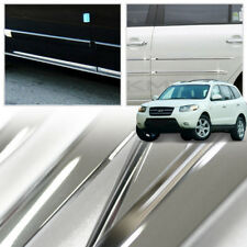 Chrome Side Skirt Door Line Sill Molding for HYUNDAI 2006 - 2012 Santa Fe CM
