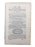 Révolution Française 1790 Rare Journal Delcrost Bezenval Ruthlidge Bastille