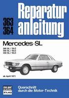 Mercedes SL (R107 C107 280 350 450 SLC) Reparaturanleitung Handbuch deutsch 107