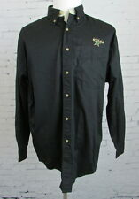 Men's Dallas Stars Hockey Black Button Up Dress Shirt Large
