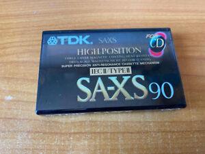 TDK - SA-XS 90 High Position - neu OVP (MC / Kassette)