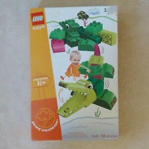 Discont.  Lego Duplo Explore Imagination Jungle Safari Adventure Alligator 3511