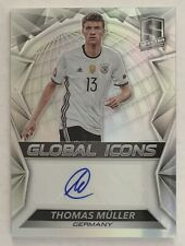 Panini Spectra Soccer Thomas Müller Global Icons auto
