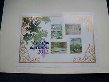 2012 N° 132 Salon du timbre 2012 Jardins de France. Bloc-feuillet neuf.