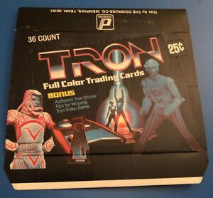 1982 Donruss Tron Empty Vintage Trading Card Box