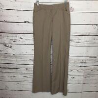 Express Editor Women's 0R Brown Pinstripe Dress Pants Career Trousers E21