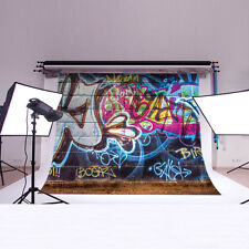 CP Vinyl Photography Background Backdrop Studio Prop 5X3FT TY49 Graffiti Wall
