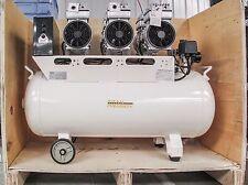 Titan Pro 70L Super Silent Oil Free Air Compressor 240v Triple Motor
