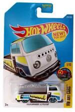 2017 Hot Wheels #295 HW Art Cars Volkswagen T2 Pickup white