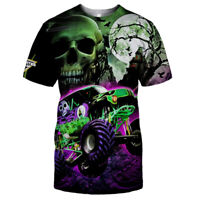 Green Grave Digger T-Shirt-3D/Logo/Size S to 5XL-TOP GIFT-FREE SHIPPING WORLD