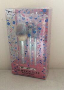 It Cosmetics Heavenly Luxe Beautiful Basics Brush Set With Case BNIB R.R.P  £45