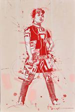 "Philippe Bertho, ""Elodie Papadopulo"", Acrylic on Canvas, Framed"