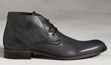 john varvatos HANDMADE IN ITALY Calf Leather Thompson Chukka Boot (Size 8.5 US)