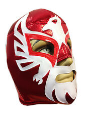 MEXICANO (pro-fit) Lucha Libre Mexican Wrestling Luchador Costume Mask - RED