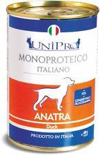 Unipro Umido monoproteico cane 12x400gr ANATRA