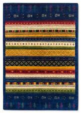 Tapis bleu avec des motifs Oriental pour la maison en 100% laine