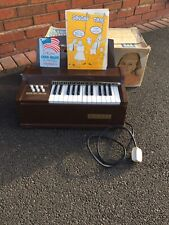 More details for vintage magnus electric chord organ model 300e working made in usa 1960 boxed