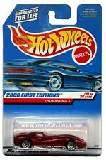 2000 Hot Wheels #70 First Edition Thomassima 3 no tampo lace