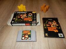 PAL N64: Donkey Kong 64 Boxed Box OVP with Manual Nintendo 64