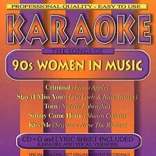 Various Artists : Karaoke: 90s Women in Music CD