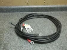 Used JOHNSON EVINRUDE MERCURY OUTBOARD 12 FT. BATTERY CABLES NICE AND SOFT