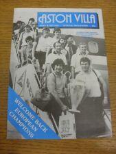 21/08/1982 Aston Villa v Dukla Prague [Friendly] . Thanks for viewing this item