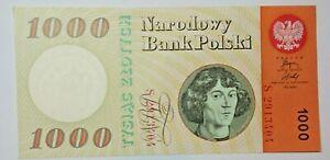 POLAND : 1000  ZLOTYCH 1965. UNC
