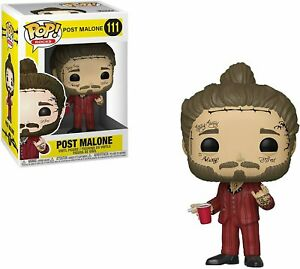 Funko Pop! Rocks: Post Malone - Post Malone Vinyl Figure #111 39181 NEW