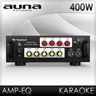 Auna HIFI stereo Verstärker Karaoke Mikrofon Power Amp Gesangsanlage AUX In 400w