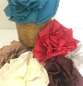 """'Lulu' Extra Large 26cm (10"""") Millinery Flower Hat Mount - 6 Unique Colours!"""
