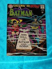 BATMAN # 202, June 1968, IRV NOVICK Cover, Fine - Very Fine Condition