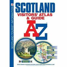 Scotland: Visitor's Atlas & Guide by Geographers' A-Z Map Co Ltd (Paperback, 2015)