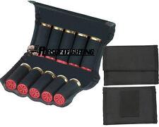 10 Round 12 Gauge Shotgun Shell Holder Folding Ammo Bag Hunting Bullet pouch BK