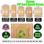 Royal Mail Large Letter Cardboard PIP Boxes Mailing Postal  C4/C5/C6/DL/Mini NEW <br/> Good Quality Boxes ✓ Quick Delivery ✓ Same Day Dispatch