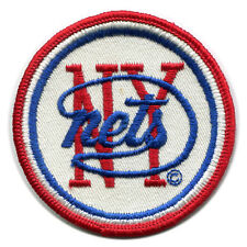 "1971-72 ERA NEW YORK NETS ABA BASKETBALL VINTAGE 3"" TEAM LOGO PATCH RARE"