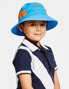Solbari UV Sun Protection Kid's Sun Hat With Chin Strap Everyday UPF 50+