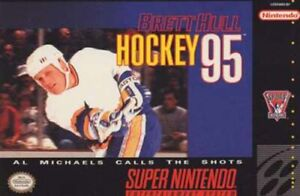 Brett Hull Hockey 95 - SNES Super Nintendo Game